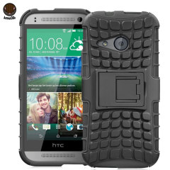 ArmourDillo HTC One Mini 2 Hybrid Protective Case - Black