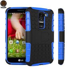 ArmourDillo Hybrid LG G2 Mini Protective Case - Blue