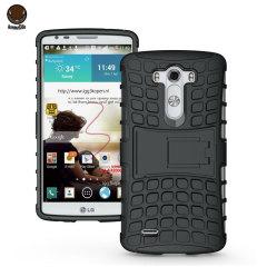ArmourDillo Hybrid LG G3 Protective Case - Black