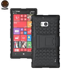 ArmourDillo Hybrid Nokia Lumia 930 Protective Case - Black