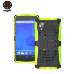Armourdillo Hybrid Protective Case For Google Nexus 5 - Green