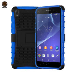 ArmourDillo Hybrid Protective Case for Sony Xperia Z2 - Blue