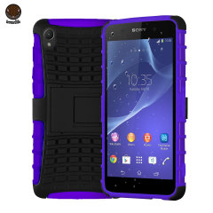 ArmourDillo Hybrid Protective Case for Sony Xperia Z2 - Purple