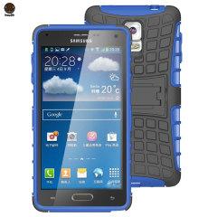 ArmourDillo Hybrid Samsung Galaxy Note 4 Protective Case - Blue