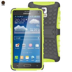 ArmourDillo Hybrid Samsung Galaxy Note 4 Protective Case - Green