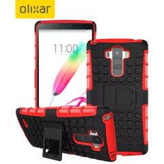 ArmourDillo LG G Stylo Tough Case - Red