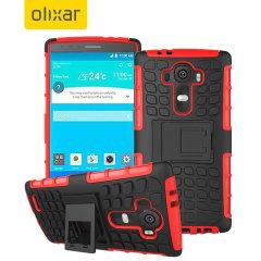 ArmourDillo LG G4 Protective Case - Red