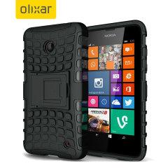 ArmourDillo Microsoft Lumia 535 Protective Case - Black