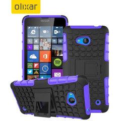 ArmourDillo Microsoft Lumia 640 Protective Case - Purple