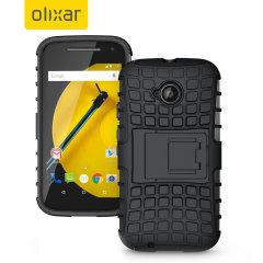 ArmourDillo Motorola Moto E 2nd Gen Protective Case - Black