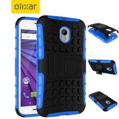 ArmourDillo Motorola Moto G 3rd Gen Protective Case - Blue