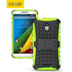 ArmourDillo Motorola Moto X Play Protective Case - Green