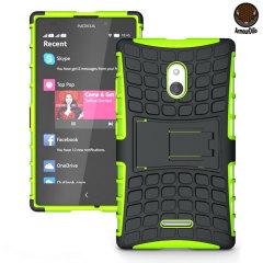 ArmourDillo Nokia XL Hybrid Protective Case - Green