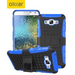 ArmourDillo Samsung Galaxy E7 Protective Case - Blue