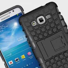 ArmourDillo Samsung Galaxy Grand Prime Protective Case - Black