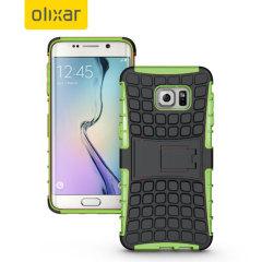 ArmourDillo Samsung Galaxy S6 Edge Plus Protective Case - Green