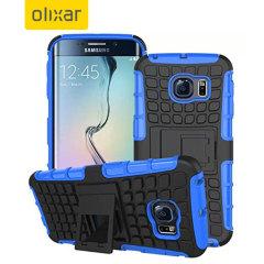 ArmourDillo Samsung Galaxy S6 Edge Protective Case - Blue