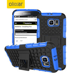 ArmourDillo Samsung Galaxy S6 Protective Case - Blue