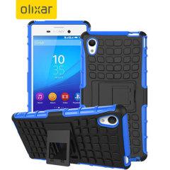 ArmourDillo Sony Xperia M4 Aqua Protective Case - Blue