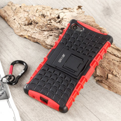 ArmourDillo Sony Xperia Z5 Compact Protective Case - Red