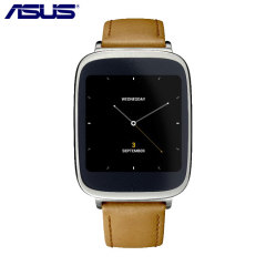 Asus ZenWatch Smartwatch - Silver & Brown Strap