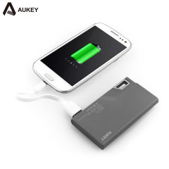 Aukey Mini Lock 3,000mAh Portable Power Bank - Black