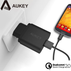 Aukey PA-U28 Turbo USB Qualcomm Quick Charge 2.0 EU Wall Charger
