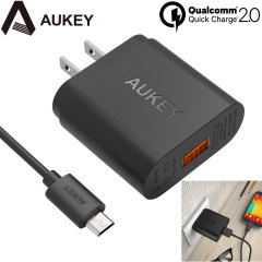 Aukey PA-U28 Turbo USB Qualcomm Quick Charge 2.0 US Wall Charger