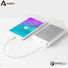Aukey Portable 10,000mAh Qualcomm Quick Charge 2.0 Power Bank