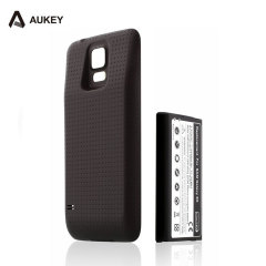 Aukey Samsung Galaxy S5 Battery Case 5,600mAh - Black