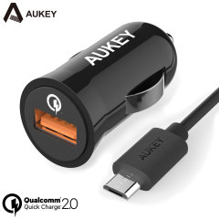 Aukey USB Qualcomm Quick Charge 2.0 Car Charger