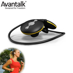 Avantalk Jogger Bluetooth Headset - Black