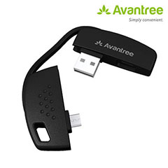 Avantree HandiSYNC Sync and Charge Cable for Micro USB devices
