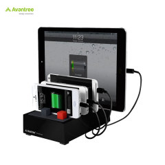 Avantree PowerHouse Desk USB Charging Station - Black - EU Mains