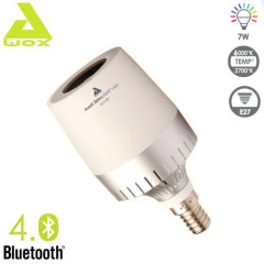 Awox Striim Light Mini Bluetooth Speaker LED Light Bulb