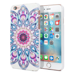 Aztec Ultra-light iPhone 6S / 6 Shell Case - Floral