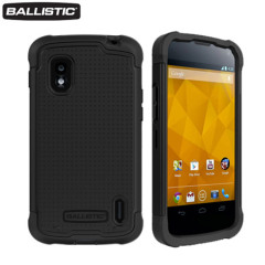 Ballistic Shell Gel Case for Google Nexus 4 - Black