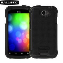 Ballistic Shell Gel Case For HTC One S - Black