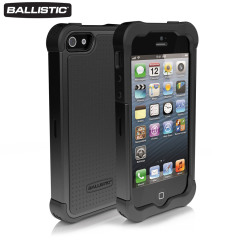 Ballistic Shell Gel Case for iPhone 5 - Black