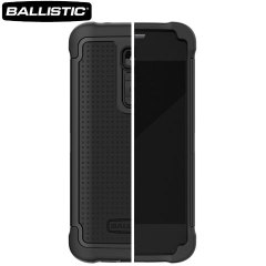 Ballistic Shell Gel Case for LG G2 - Black