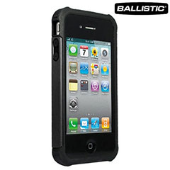 Ballistic Shell Gel Case for the iPhone 4S / 4 - Black
