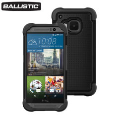 Ballistic Tough Jacket HTC One M9 Protective Case - Black