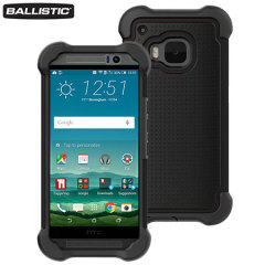 Ballistic Tough Jacket MAXX HTC One M9 Case - Black