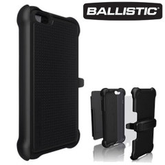 Ballistic Tough Jacket Maxx iPhone 6S Plus / 6 Plus Case - Black