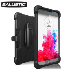 Ballistic Tough Jacket Maxx LG G3 Hard Case - Black
