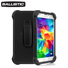Ballistic Tough Jacket Maxx Samsung Galaxy S5 Hard Case - Black
