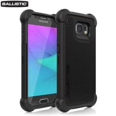 Ballistic Tough Jacket MAXX Samsung Galaxy S6 Case - Black