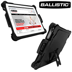 Ballistic Tough Jacket Series Case for iPad 3 / iPad 2 - Black