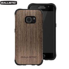Ballistic Urbanite Select Samsung Galaxy S7 Edge Case - Dark Wood