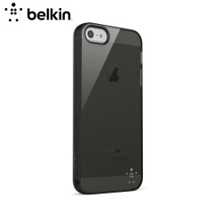 Belkin F8W093 Grip Sheer Case for iPhone 5S / 5 - Translucent Black